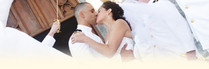 Wedding - Couple Kissing
